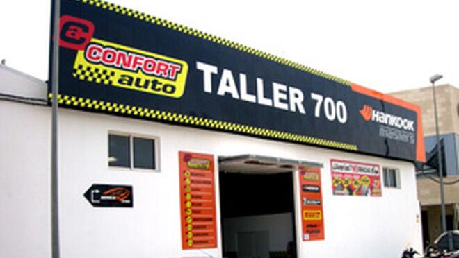 Confort auto alcanza los 700 talleres - Fachadas de talleres ...