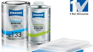 Standoblue y Standocryl, aplicación en un solo paso