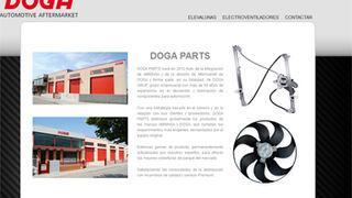 Doga Parts estrena página web
