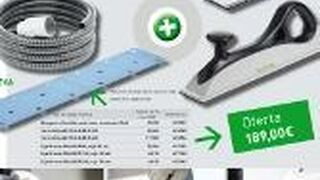 Festool presenta un nuevo set de lijado manual con aspiración