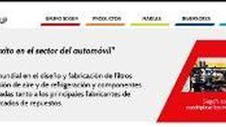 Sogefi estrena web en español
