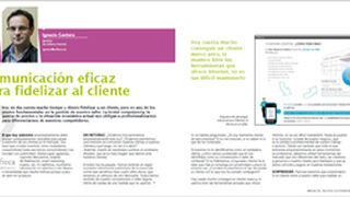 Comunicación eficaz para fidelizar al cliente