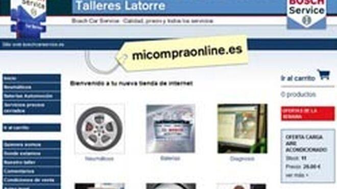 Talleres Latorre se suma al carro del comercio electrónico