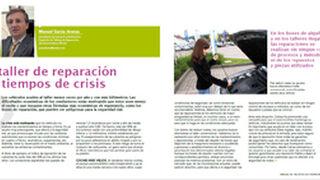 El taller de reparación en tiempos de crisis