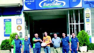 Eurotaller entrega los premios de su promoción Eurocopa 2012