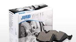 Pastillas de freno Jurid White con alta reducción de polvo