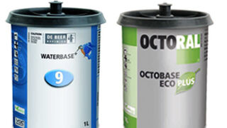 De Beer Water Base Serie 900+ y Octoral Octobase Eco Plus, nuevas pinturas base agua