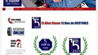 Claxon estrena página web