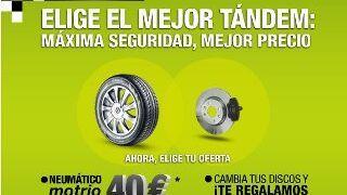 Promoción de Renault para cambiar neumáticos y discos de freno