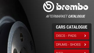El catálogo de posventa de Brembo, a través de iPhone e iPad