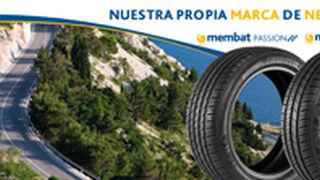 Membat, los neumáticos de Autoequip, ya en el mercado