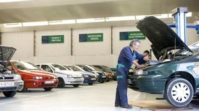 Los talleres caerán en valor el 7% en 2012