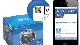 SKF facilita la identificación e instalación de sus kits de rueda