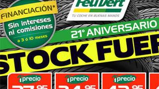 Feu Vert celebra su 21º aniversario con promociones