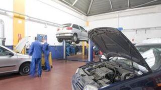 El número de talleres en España cae el 1,5% respecto a 2011
