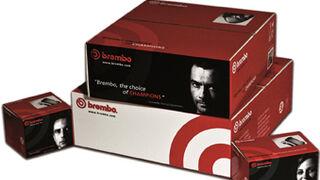 Brembo renueva los embalajes de sus recambios