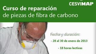 Curso Cesvimap para reparar piezas de fibra de carbono