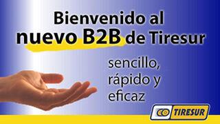 Tiresur estrena plataforma B2B para talleres