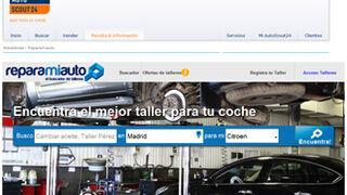 AutoScout24 integra el buscador de talleres Reparamiauto.com