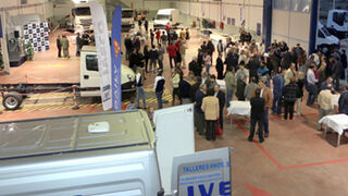 El taller autorizado Iveco Sanz Jusdado Motor estrena instalaciones