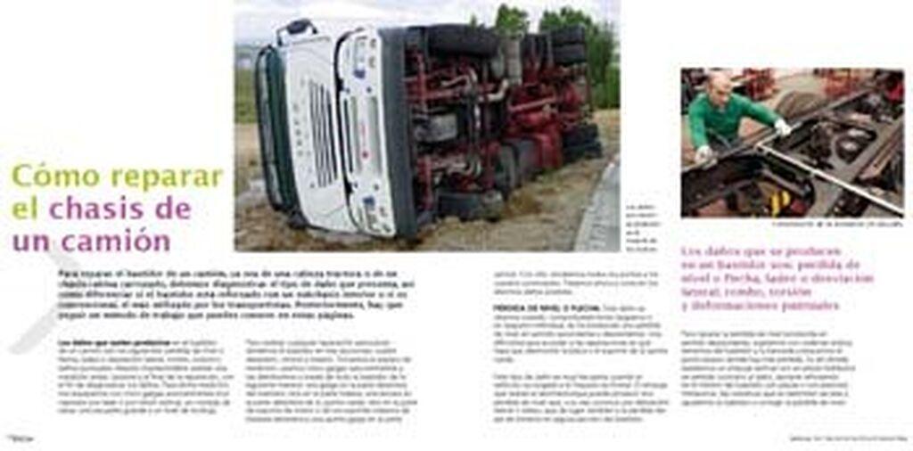 Cómo reparar un chasis de camión