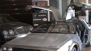 Un taller madrileño restaura el coche de Regreso al Futuro