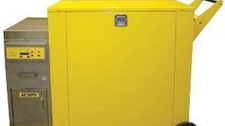 Uni-ram presenta reciclador y calefactor para lavadoras de pistolas