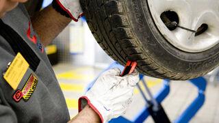 El 54% de neumáticos cambiados, por debajo del límite legal