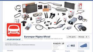 Eurorepar inicia 2013 con más de 900 fans en Facebook