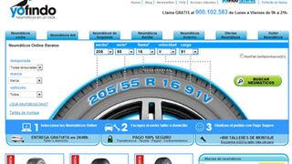 Nuevo diseño para la página web de Yofindo