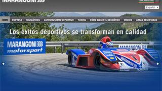 Marangoni Tyre renueva su página web