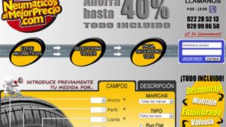 Neumaticosalmejorprecio.com echa a andar en Canarias