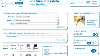 Recambioactual.com, nueva web de venta de repuestos