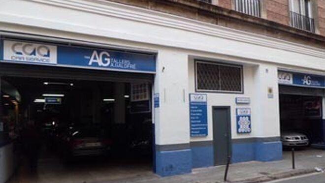 Cga car service ya tiene 40 talleres rotulados - Fachadas de talleres ...