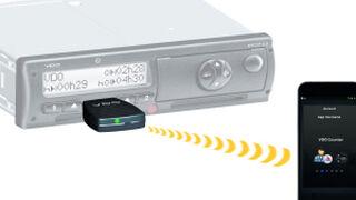 El tacógrafo digital de VDO se comunica con el smartphone