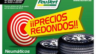 """Feu Vert ofrece """"Precios Redondos"""" en sus neumáticos"""
