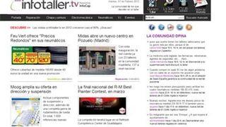 Infotaller.tv se afianza como la web informativa líder de la posventa