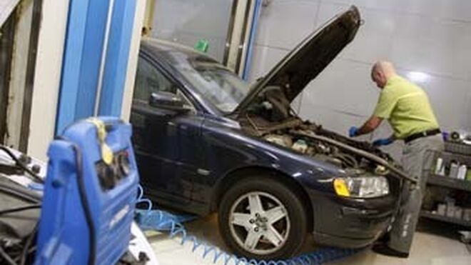Automoción, segundo sector con más accidentes laborales en Cantabria
