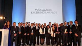 Volkswagen premia la excelencia de sus concesionarios