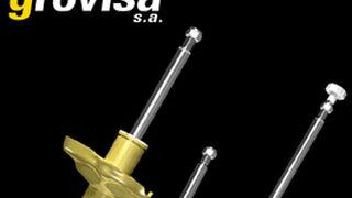 Grovisa, distribuidora exclusiva de amortiguadores deportivos Koni