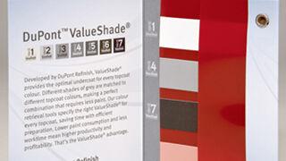DuPont Refinish renueva su muestra de mano ValueShade