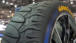 La nueva identidad de Goodyear, resumida en un neumático