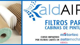 Filtros Cartés formará sobre filtración en cabinas de pintura en Motortec