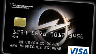 La red Opel lanza su propia tarjeta de crédito