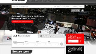 Bridgestone Europa lanza una web de neumáticos de turismos