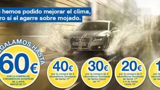 Goodyear regala hasta 60 euros por comprar sus neumáticos
