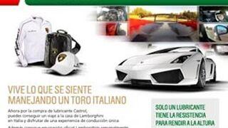 Castrol ofrece una experiencia Lamborghini por la compra de lubricantes