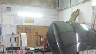 Localizado en Burgos un taller ilegal