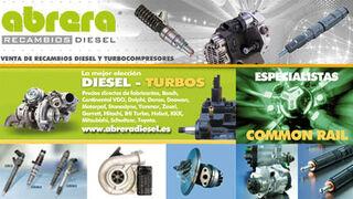Abrera Recambios Diesel ofrece una completa gama de turbos e inyectores