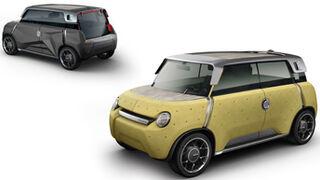 Toyota diseña un coche con carrocería de plástico intercambiable